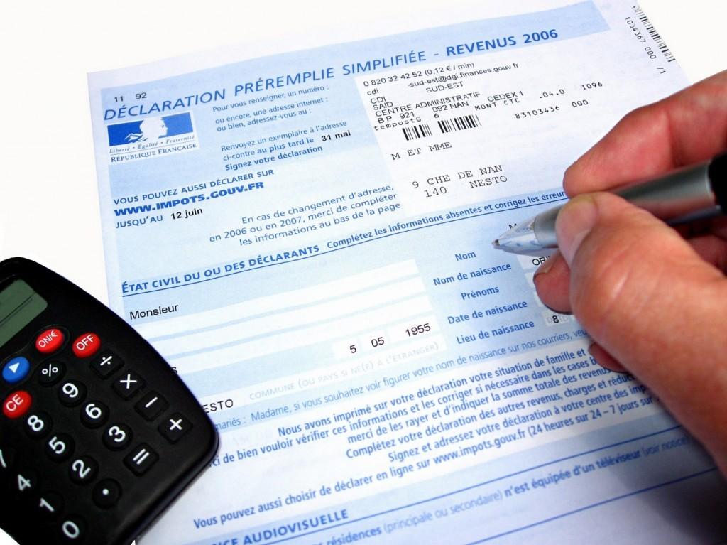 déclaration d'impôt annuelle