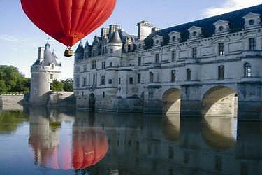 un vol en montgolfière
