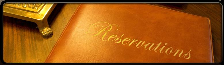 Réservations en ligne