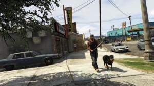 Franklin et son chien Chop