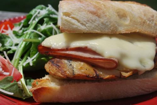 sandwich cordon bleu