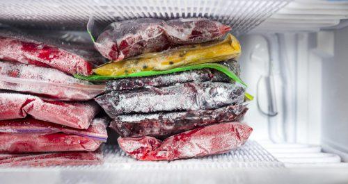 Poissons et plats congelés