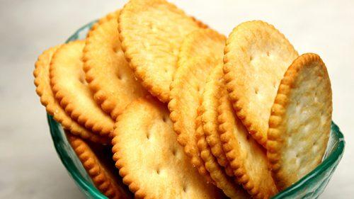 Biscuits et craquelins secs