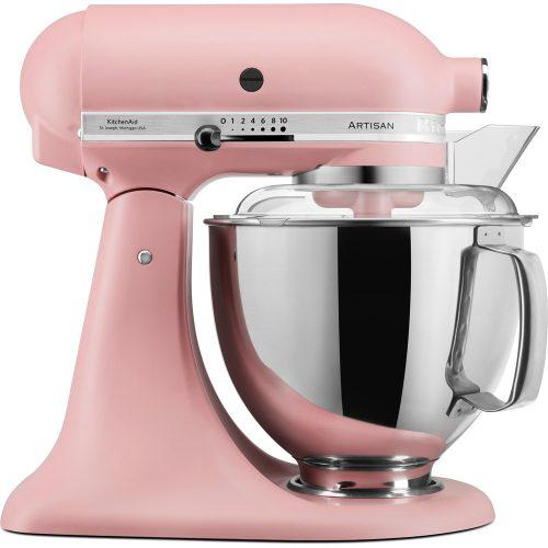 Robot pâtissier KitchenAid Artisan rose bonbon